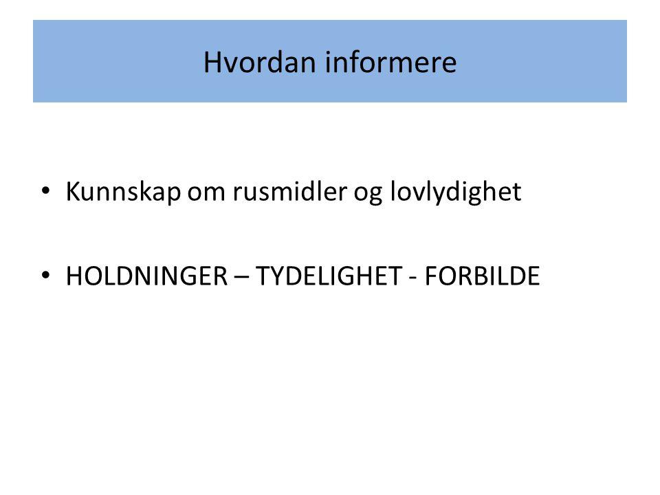 Alkohol og statistikk Ung i Oslo 2012 Selvrapporteringsundersøkelse i 9.