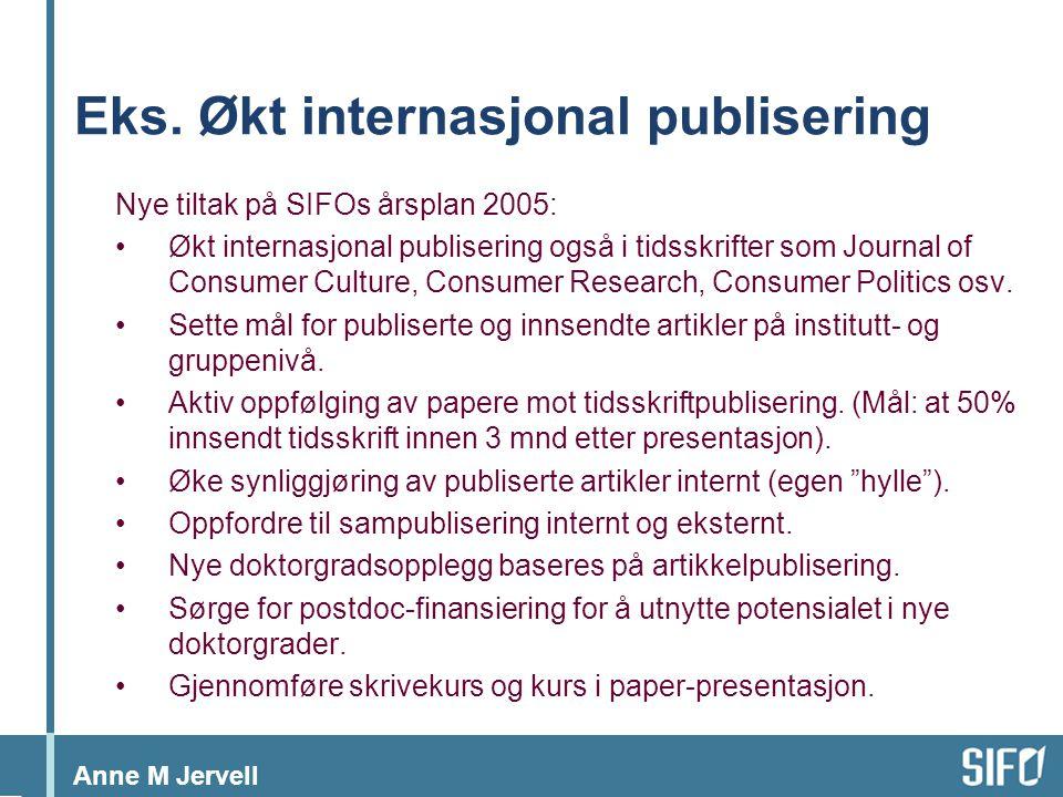 Anne M Jervell Eks.