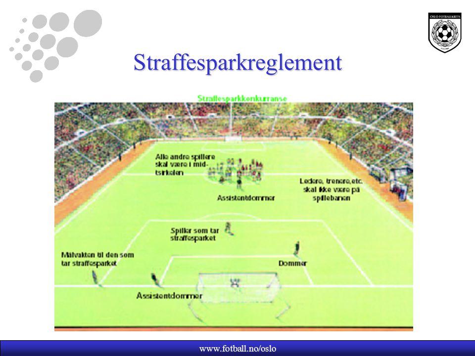 www.fotball.no/oslo Straffesparkreglement