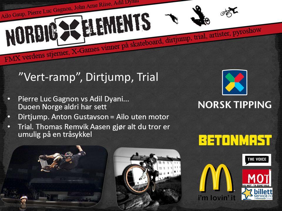 Vert-ramp , Dirtjump, Trial • Pierre Luc Gagnon vs Adil Dyani...