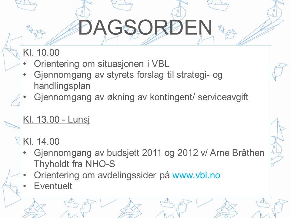 Ventilasjons- og blikkenslagerbedriftenes Landsforbund STRATEGI 2011 – 2021 OLDERMANNSMØTE 23.