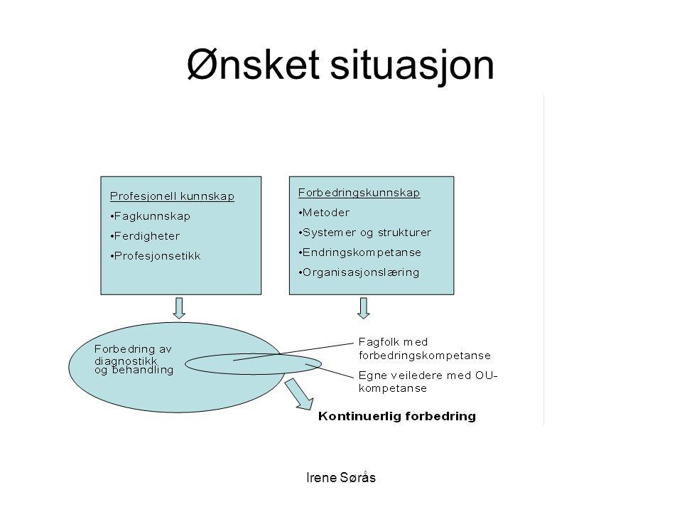 Irene Sørås Ønsket situasjon