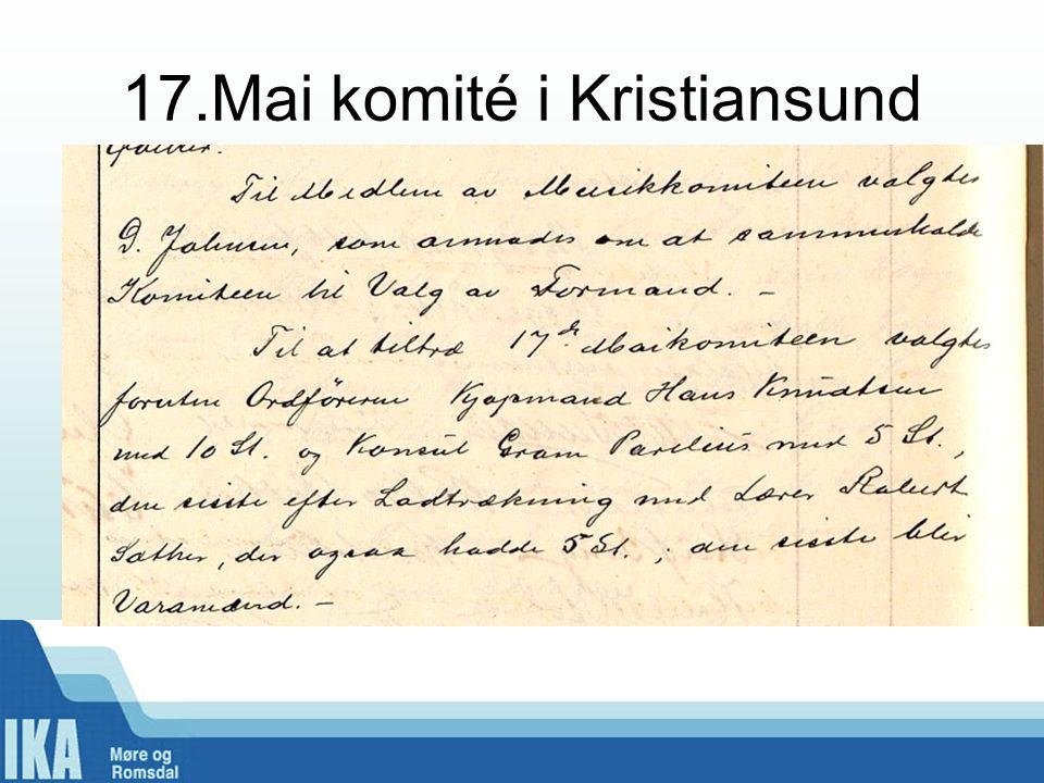 17.Mai komité i Kristiansund