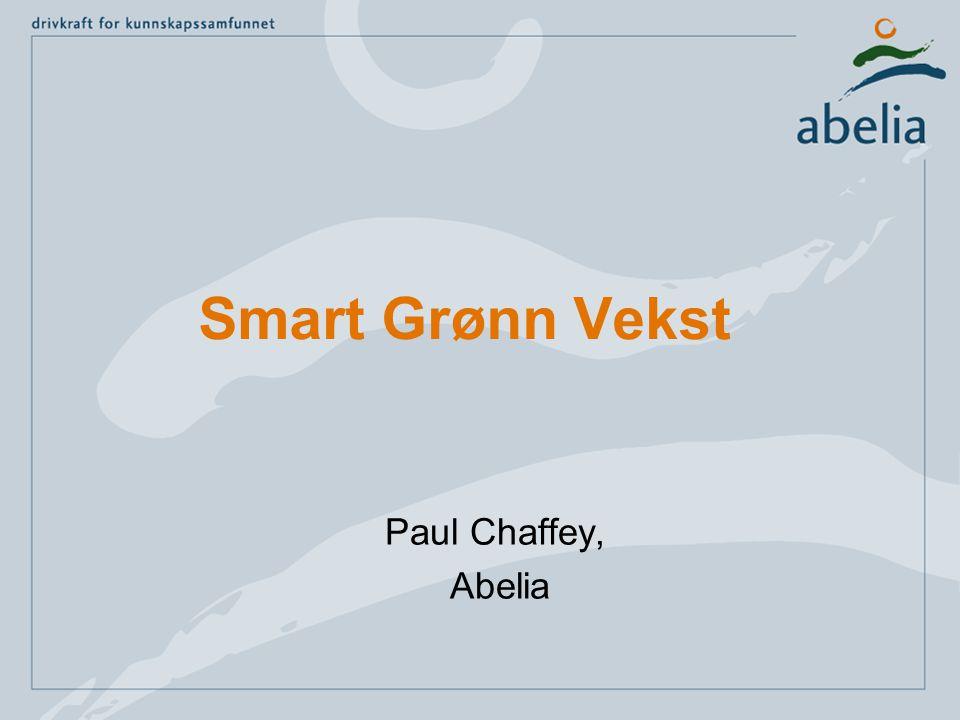 Smart Grønn Vekst Paul Chaffey, Abelia