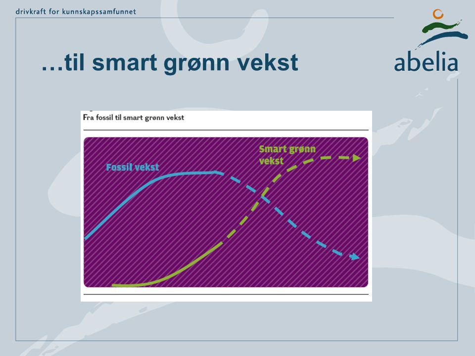 …til smart grønn vekst