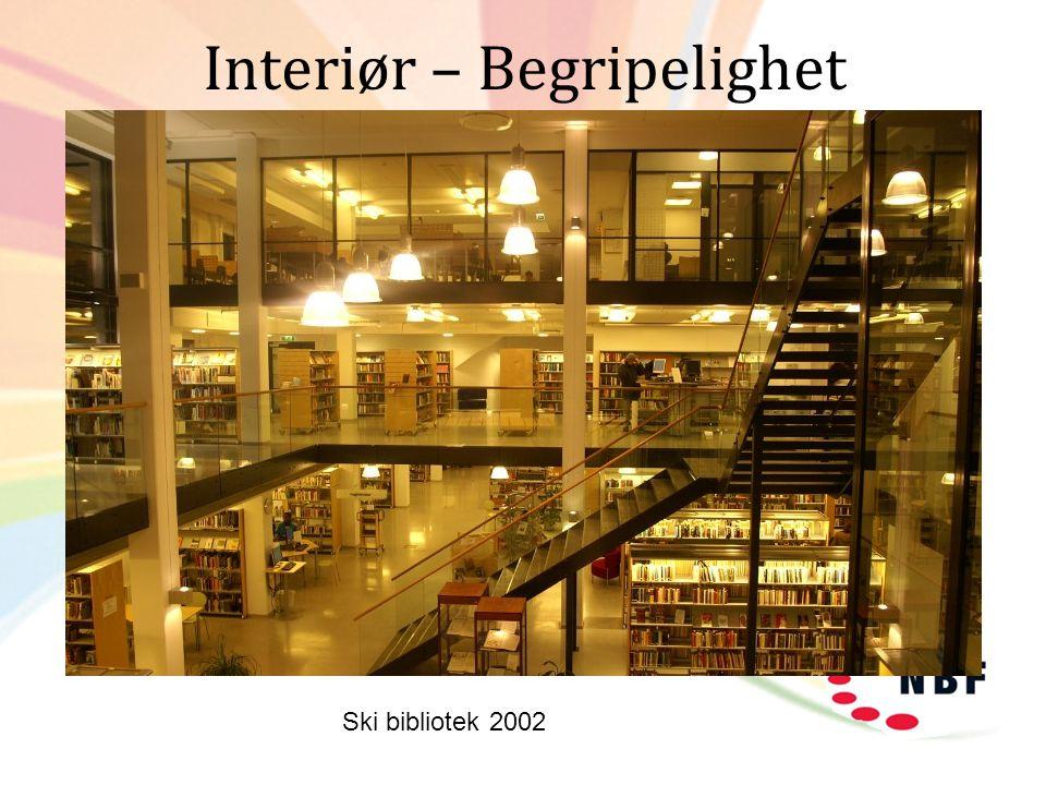 Interiør – Begripelighet Ski bibliotek 2002