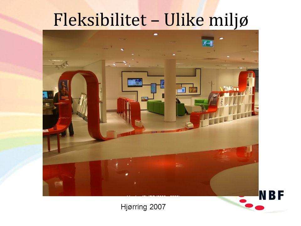 Fleksibilitet – Ulike miljø Hjørring 2007