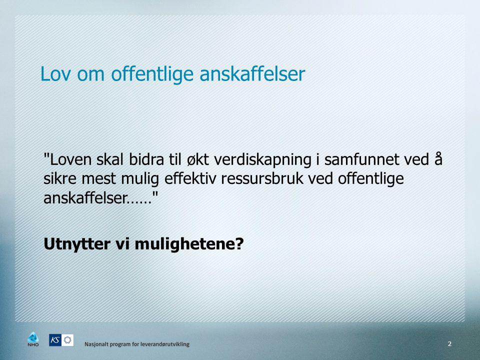 Mer informasjon  www.leverandorutvikling.no www.leverandorutvikling.no  www.anskaffelser.no www.anskaffelser.no Beskrivelse av pilotprosjekter, presentasjoner fra dialogkonferanser, metodikk mv.