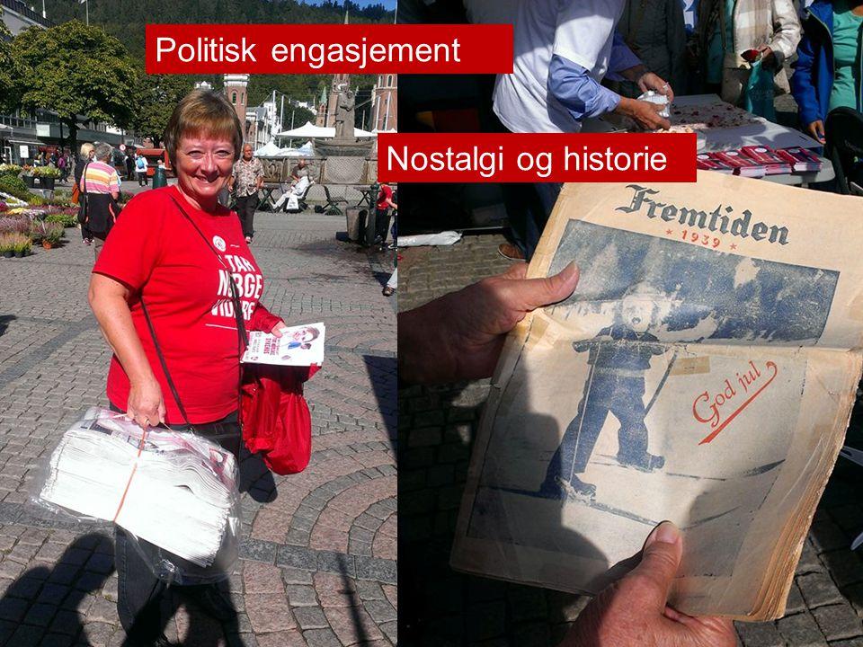 Politisk engasjement Nostalgi og historie