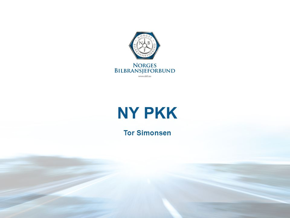 Politisk økonomisk gruppe John Fiskvik (OOBF) Knut Espen (Møller) Henrik Junker (Toyota) Cato Leine (Drammen Karosseri & Lakk / Tesla) Stian Helle (BOS) Tor Simonsen (NBF) 1.Etablert dialog/kontakt med de viktigste forsikringsselskapene (If, Tryg, Gjensidige og SP1) 2.Sette agendaen og sikre ufiltrert dialog mellom bil- og forsikringsbransje 3.Påvirke til en bedre balanse i samarbeidet mellom bil- og forsikringsbransje