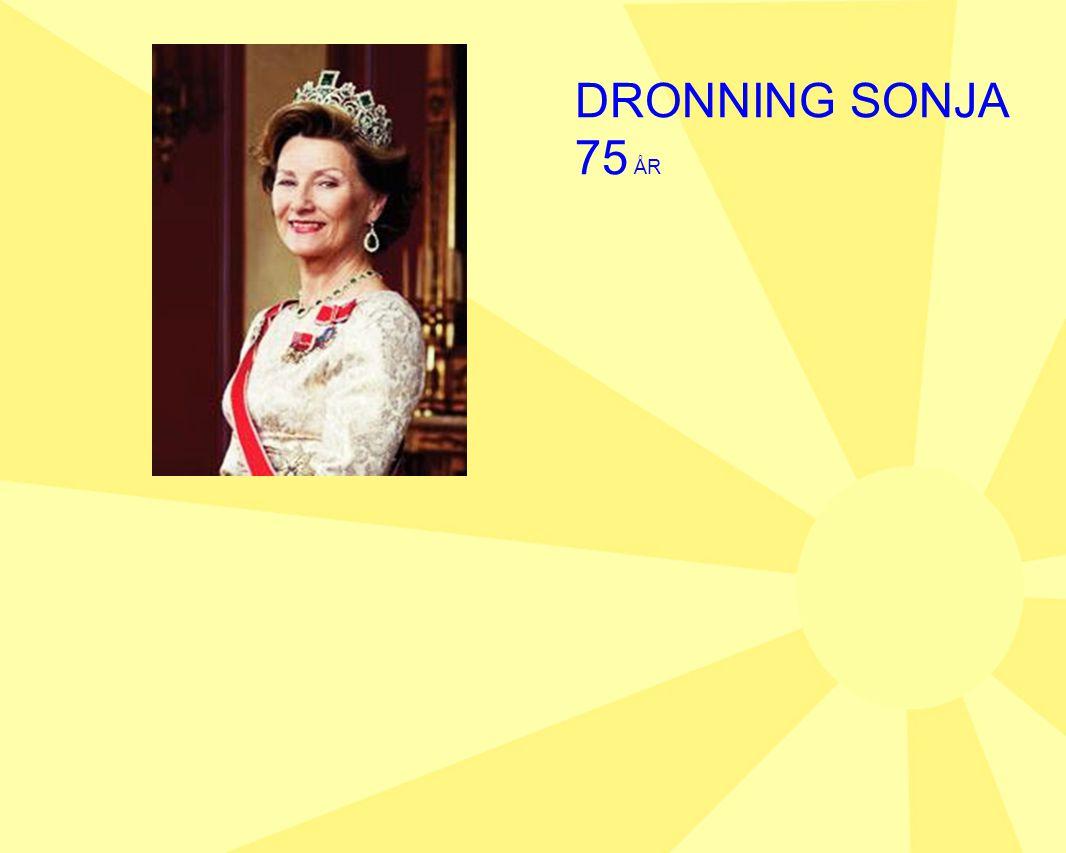 DRONNING SONJA 75 ÅR