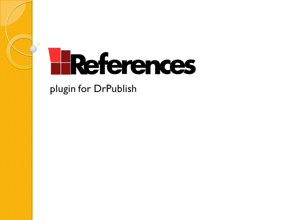 plugin for DrPublish