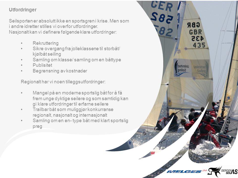 Langsiktig satsning Vår satsning på Melgescup og et sportslig seilmiljø i Hordaland er langsiktig.