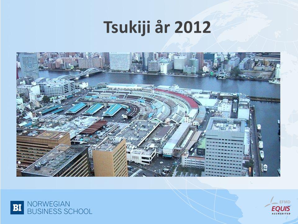 Tsukiji år 1700