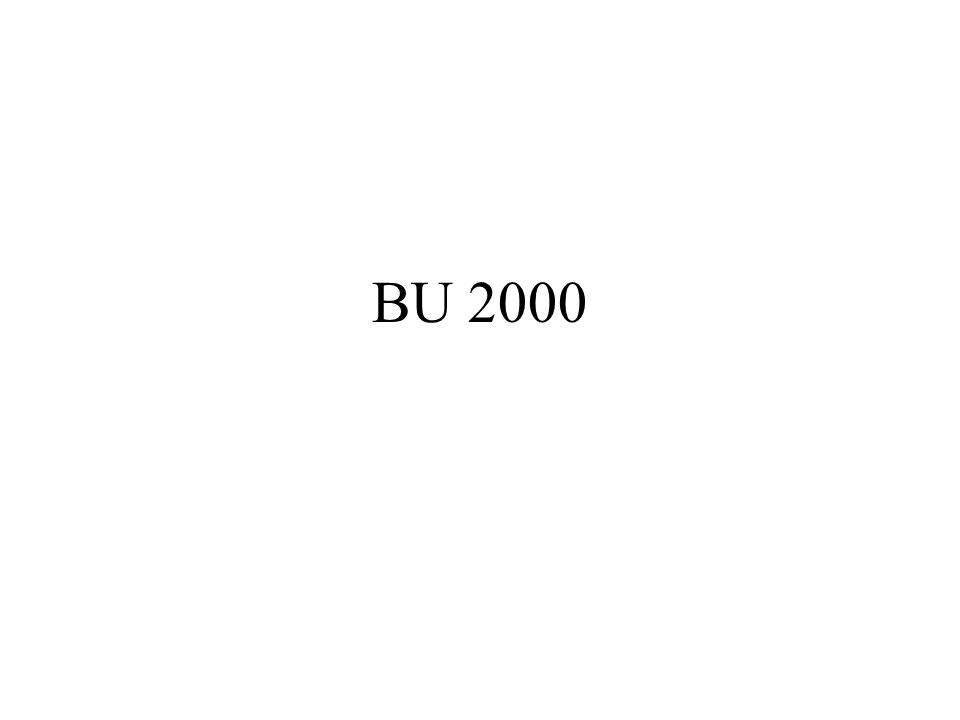 BU 2000