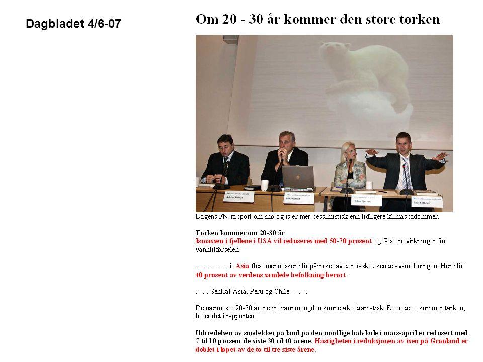 Dagbladet 4/6-07