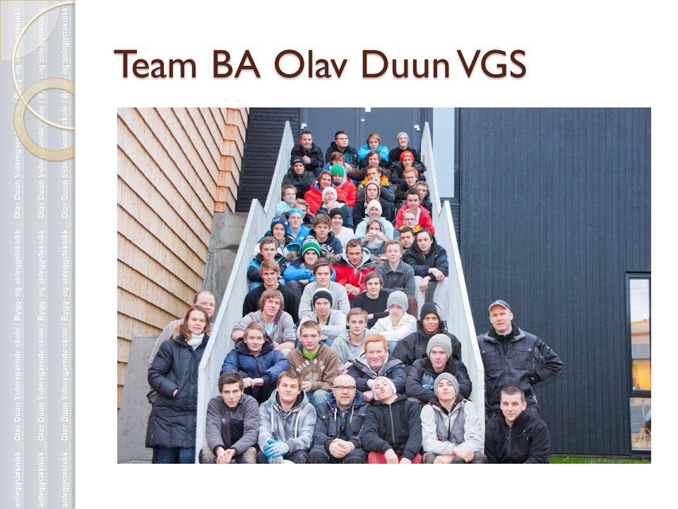 Team BA Olav Duun VGS