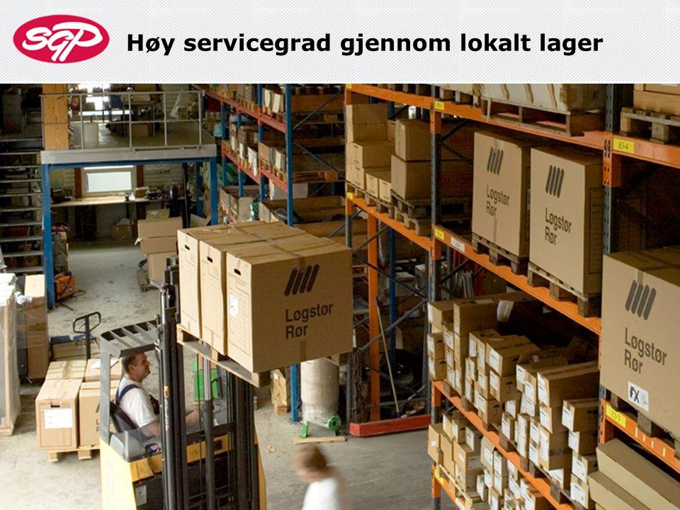 Høy servicegrad gjennom tilpassede tjenester 10