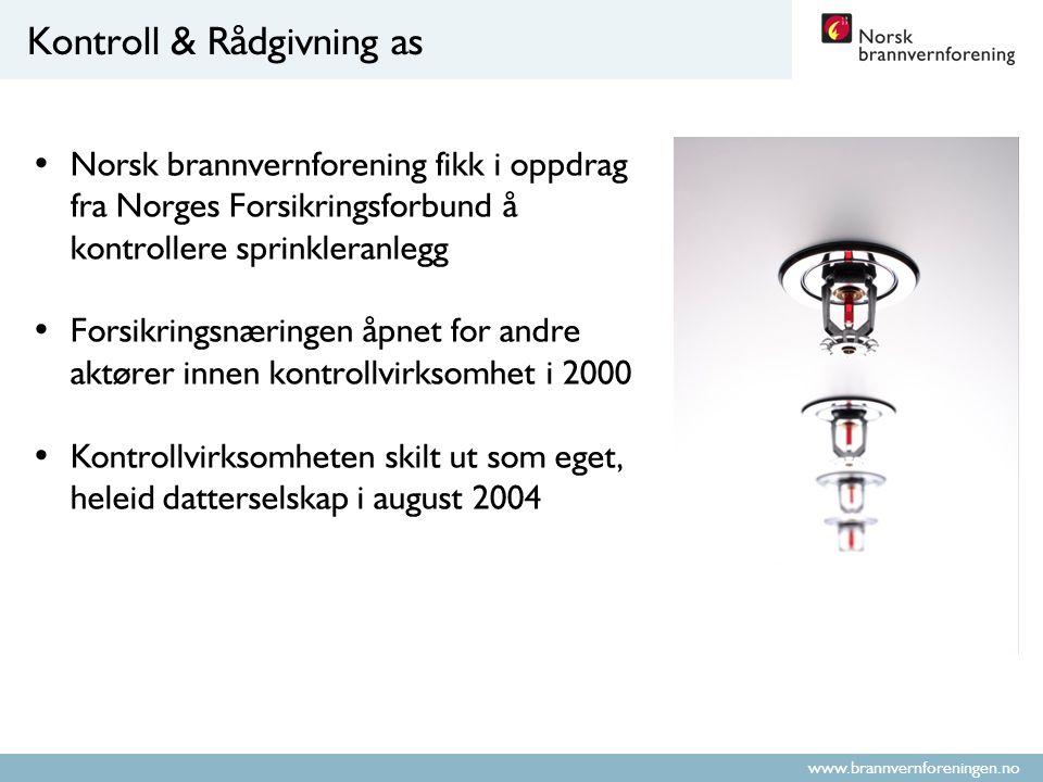 www.brannvernforeningen.no Er kontroll en pålagt utgift eller et styringsverktøy.
