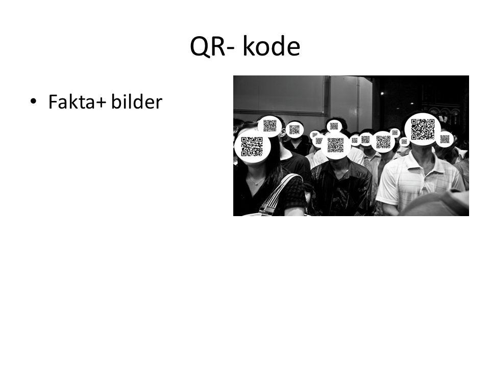 QR- kode • Fakta+ bilder
