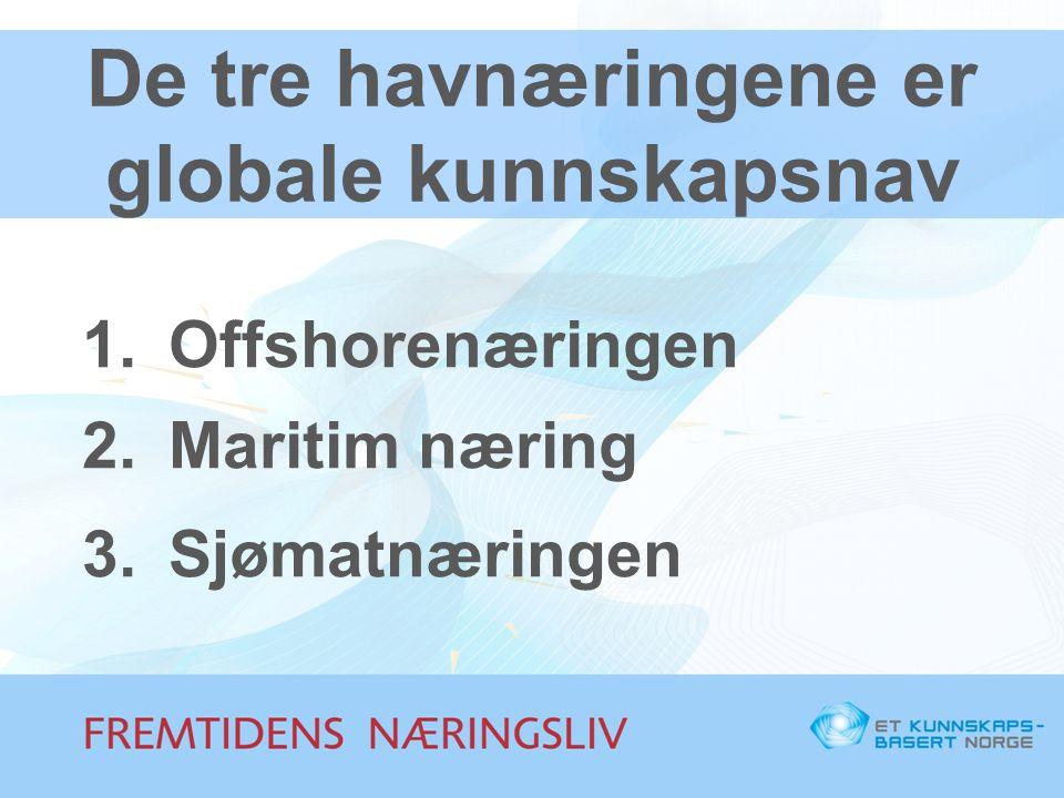 Næringskompetansen innen sjømat har fem dimensjoner (5F) 1.Forvaltningskompetanse 2.Fangstkompetanse 3.Foredlingskompetanse 4.Forbrukerkompetanse 5.Forskningskompetanse