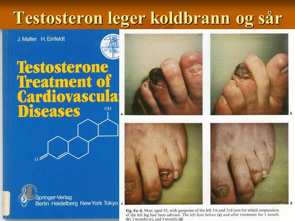Testosteron leger koldbrann og sår
