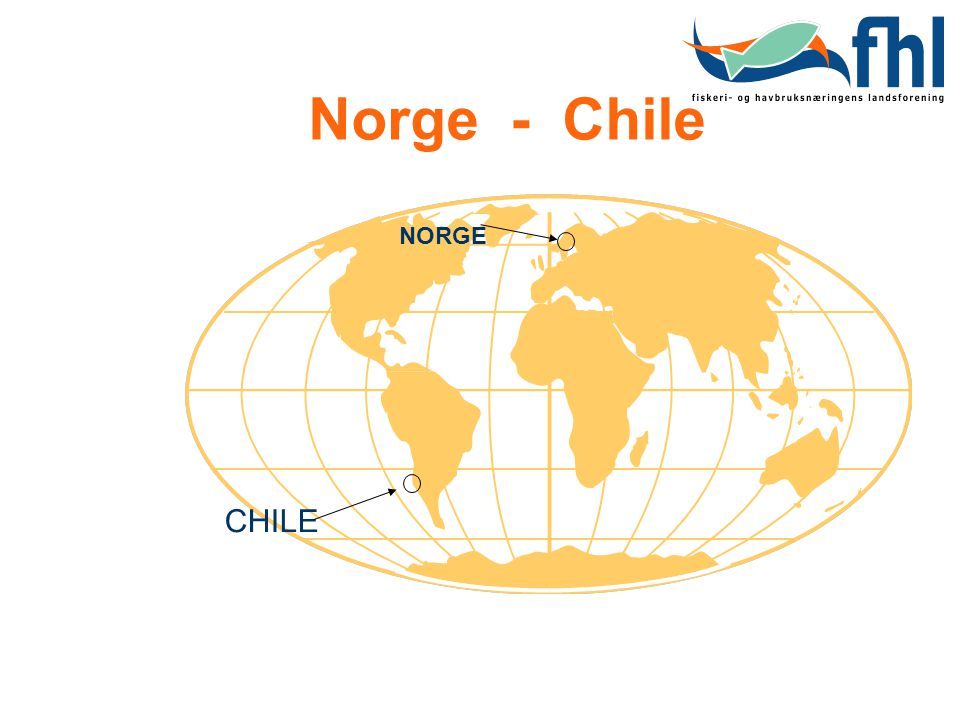 Norge - Chile CHILE NORGE
