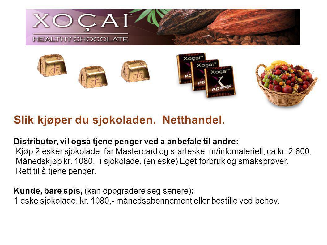 Slik kjøper du sjokoladen.Netthandel.