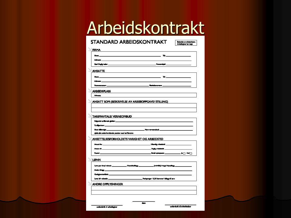 Rettigheter og plikter i arbeidslivet  Dersom det står i arbeidskontrakten at du skal bruke verneutstyr, SÅ GJØR DET!.