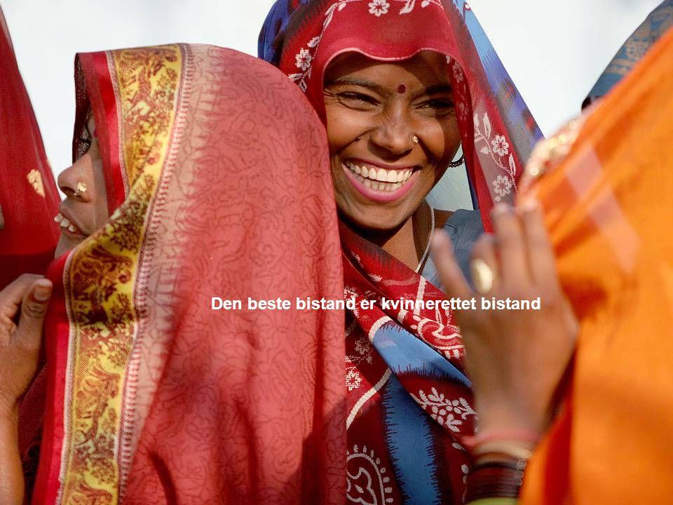 Den beste bistand er kvinnerettet bistand