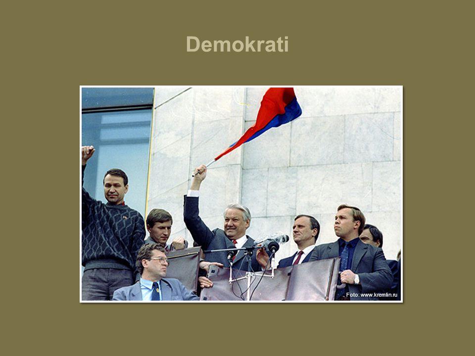 Demokrati Foto: www.kremlin.ru