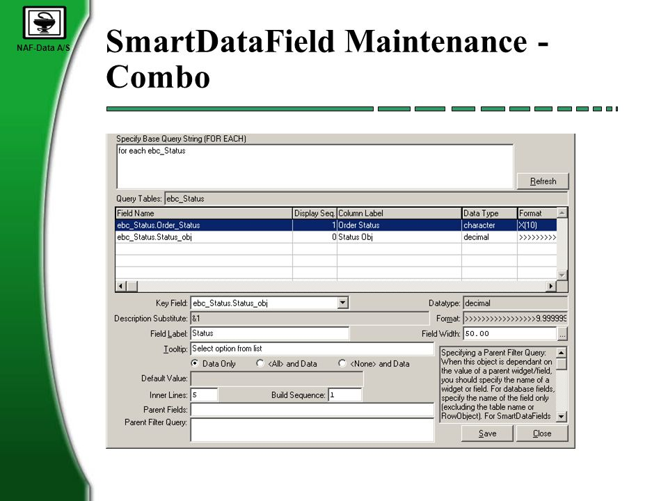 NAF-Data A/S SmartDataField Maintenance - Combo