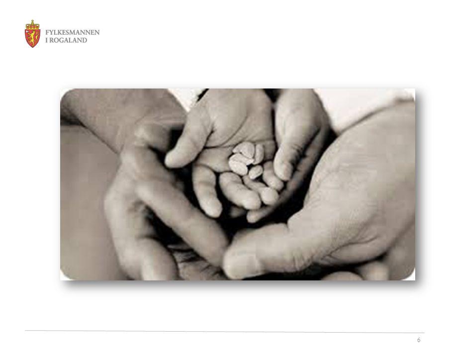 7 FNs konvensjon om barns rettigheter i Norge • Ratifisert 16.