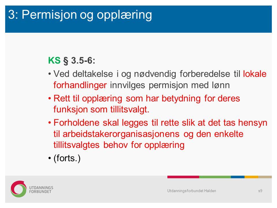 B: HOVEDTARIFFAVTALENE (HTA) Utdanningsforbundet Haldens20