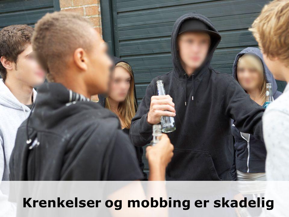 Krenkelser og mobbing er skadelig