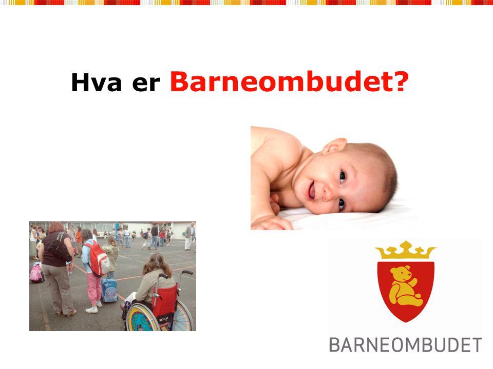 Hva er Barneombudet?