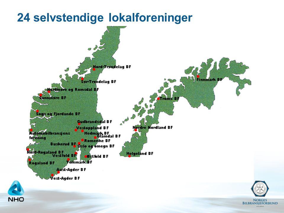 24 selvstendige lokalforeninger