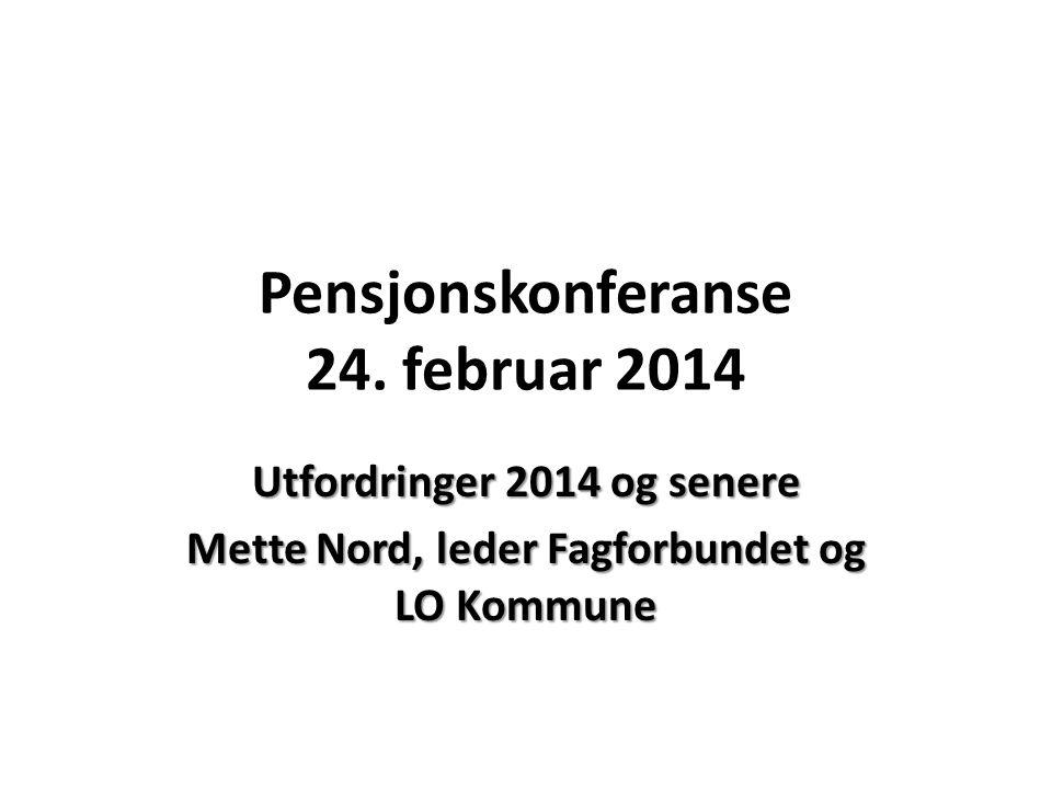 Pensjonskonferanse 24.