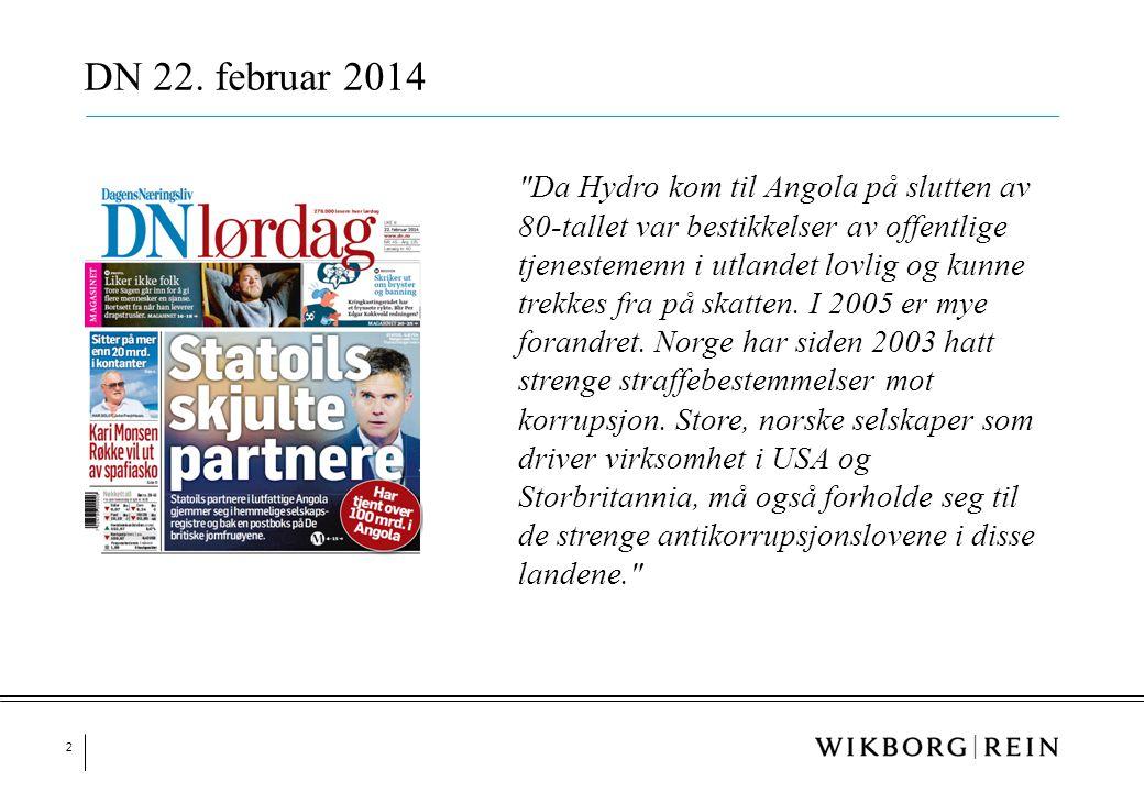 3 Aftenposten 25. februar 2014