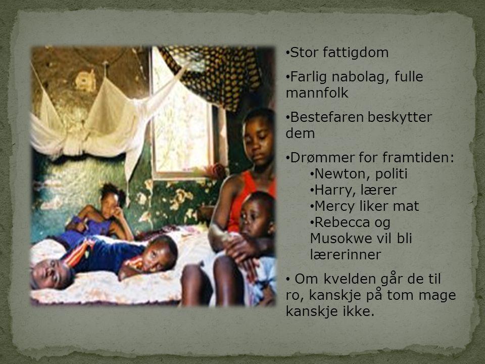 Redd Barna • Frivillig rettighets –organisasjon • Nøytral – Hjelper alle • Hjelper 2,5 millioner barn • I mer enn 20 land • Jobber med: • Barnas rettigheter • Barn og utdannelse • Barn i krig og konflikt • Vold og seksuelle overgrep • Hiv og Aids • Fattigdom