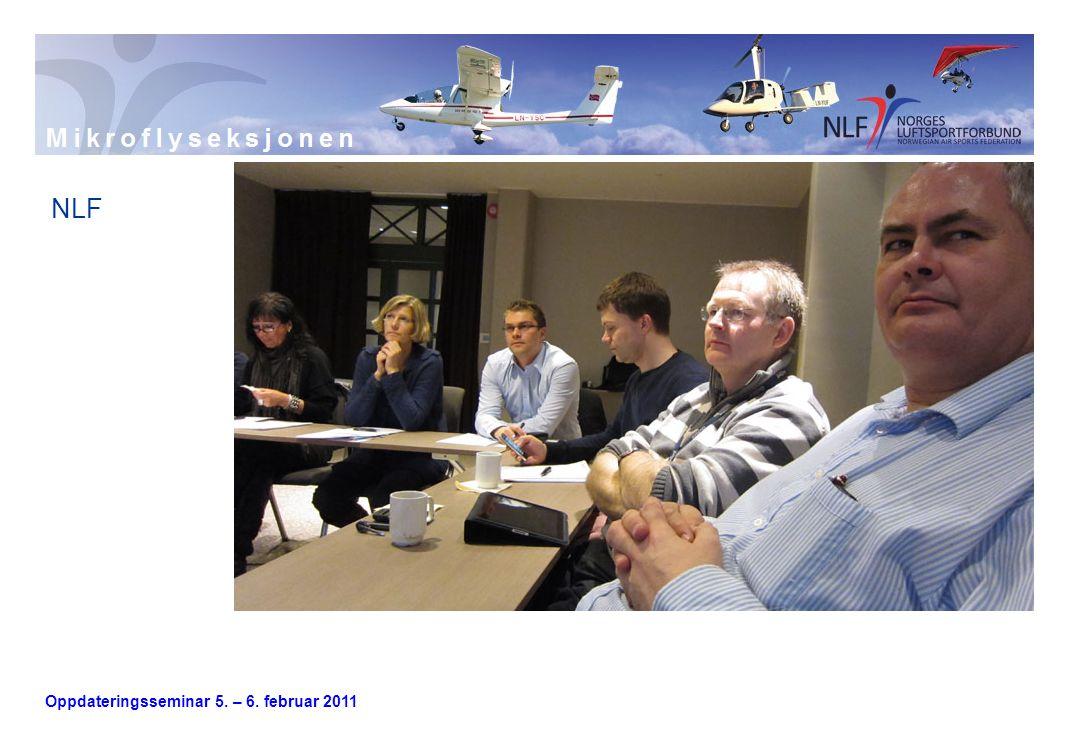 Oppdateringsseminar 5. – 6. februar 2011 Lufttartstilsynet