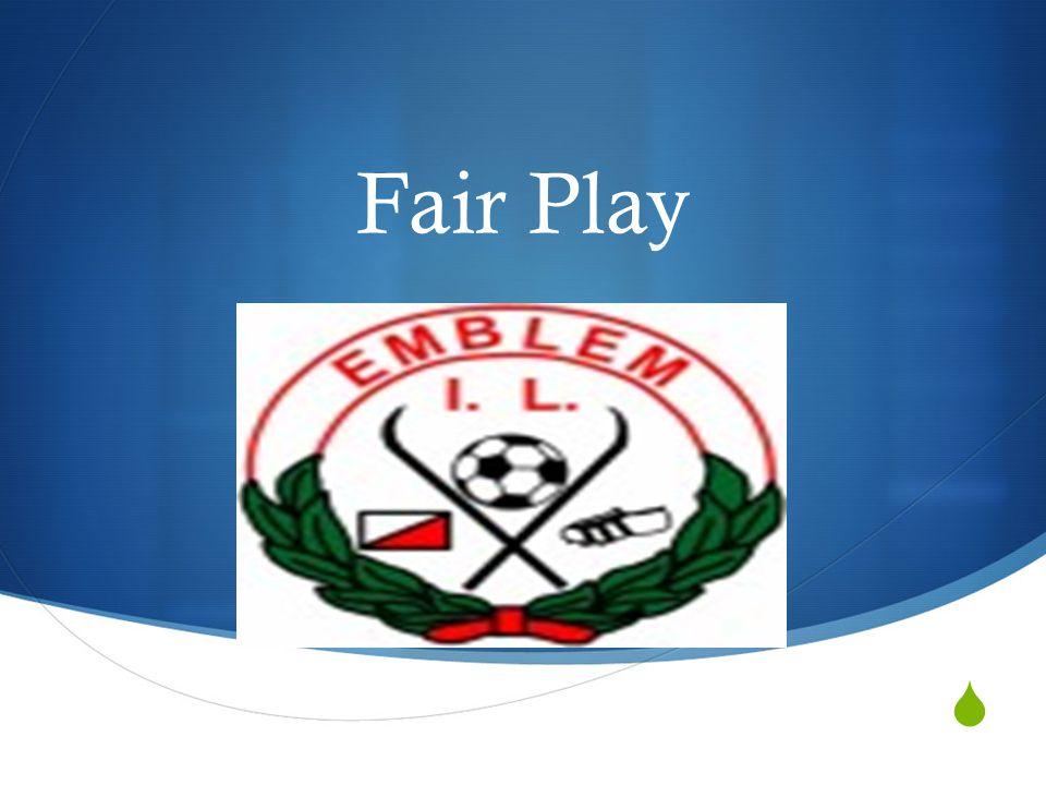  Fair Play Emblem