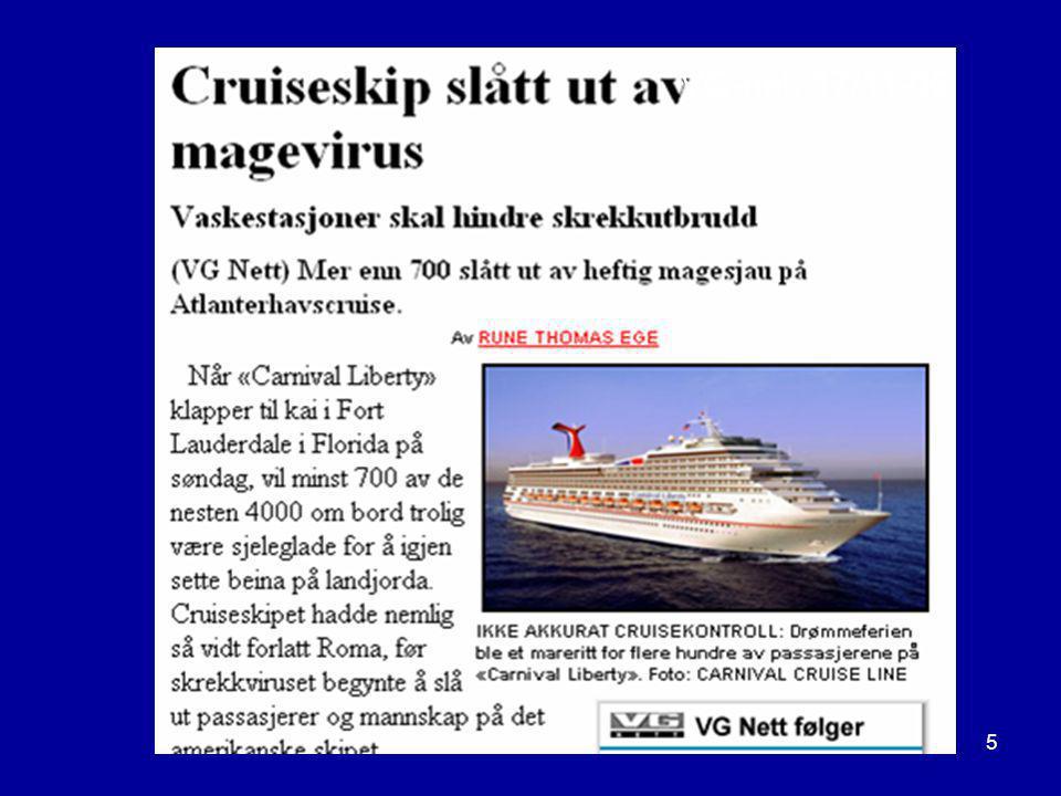 Bodø 26.09.200726 HVA PREDIKERER NOROVIRUSSESONGEN.