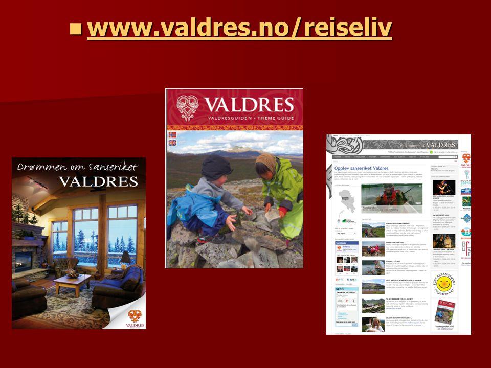  www.valdres.no/reiseliv www.valdres.no/reiseliv