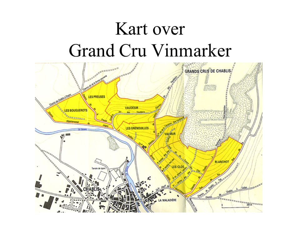 Kart over Grand Cru Vinmarker