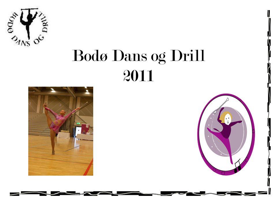 Presentasjon Bodø Dans og Drill Stiftet 15.10.2001 av Malin K.