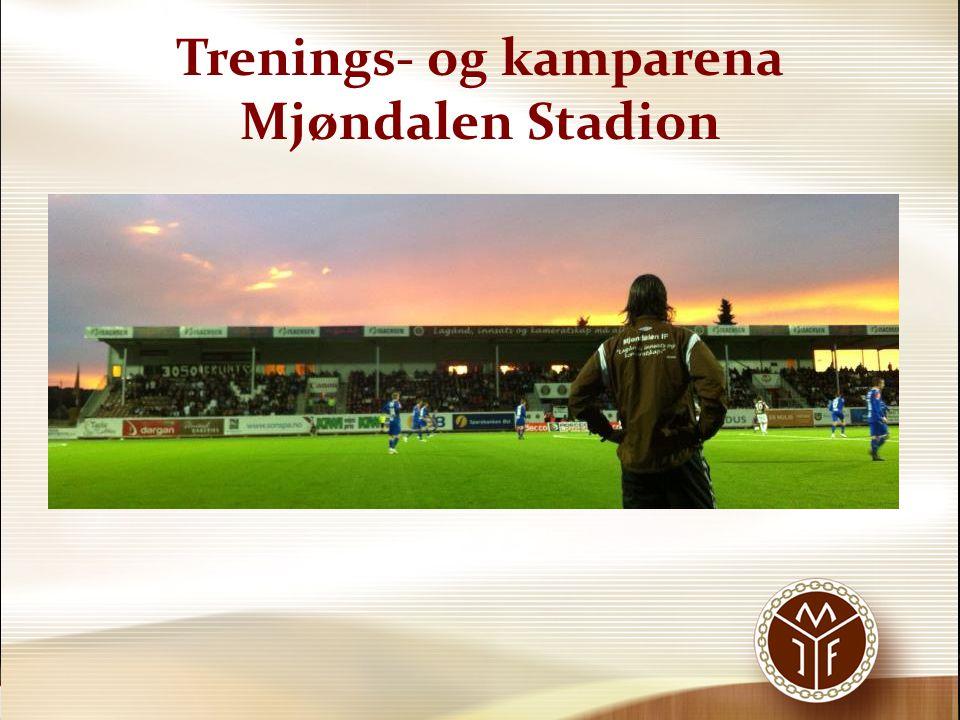 Trenings- og kamparena Mjøndalen Stadion