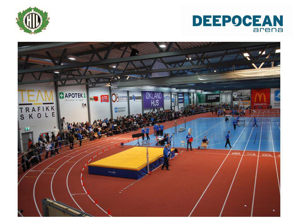 Innendørs friidrett er publikumsvennlig • Konseptet • Fremtidsrettet • NFIF sin rolle.