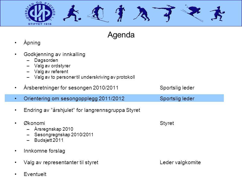 Sesongregnskap 2010/2011Kostnader Forts •Det er kostbart å drive ski i Norge.