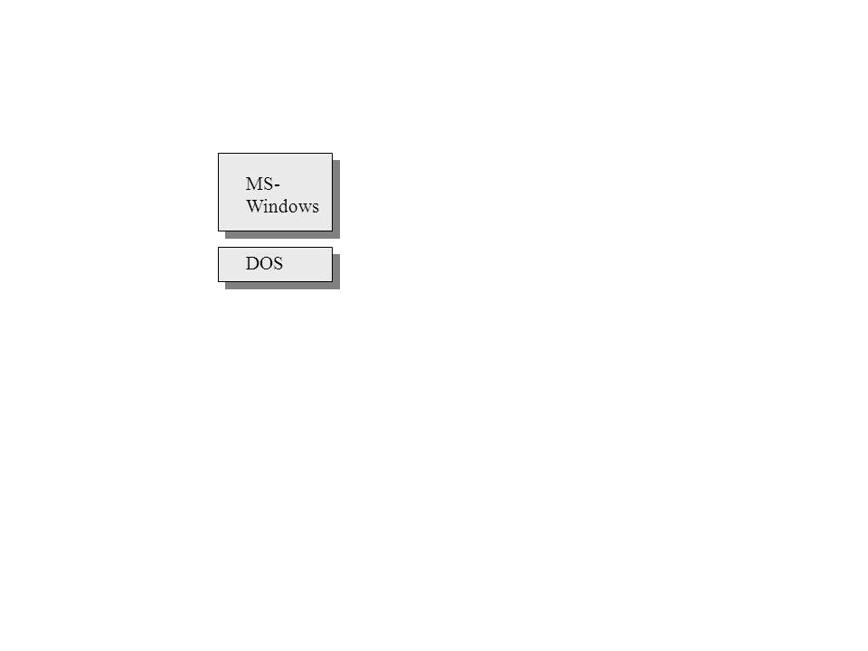 DOS MS- Windows